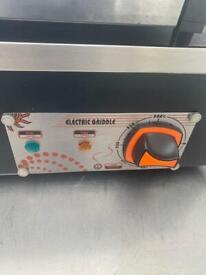 Burger grill hot pan electric