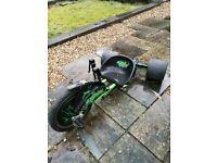 Green Machine three wheeler, Go Cart