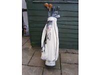 Slazenger golf bag etc.