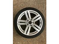 "BMW M-Sport 18"" Alloy Wheel & Run Flat Tyre"