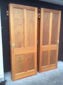Internal 4 panel doors