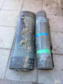 2 x rolls torch on roofing felt