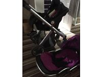 Oyster pushchair and car seat