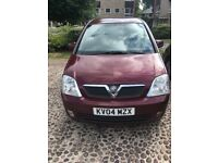 Vauxhall meriva design 1.8 petrol manual