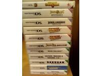 11 ds games job lot