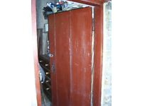 Door for shed