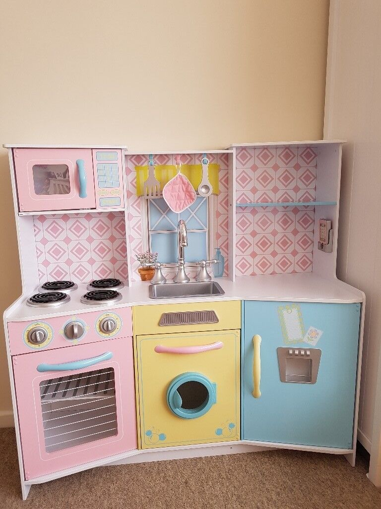 Large wooden kitchen toy