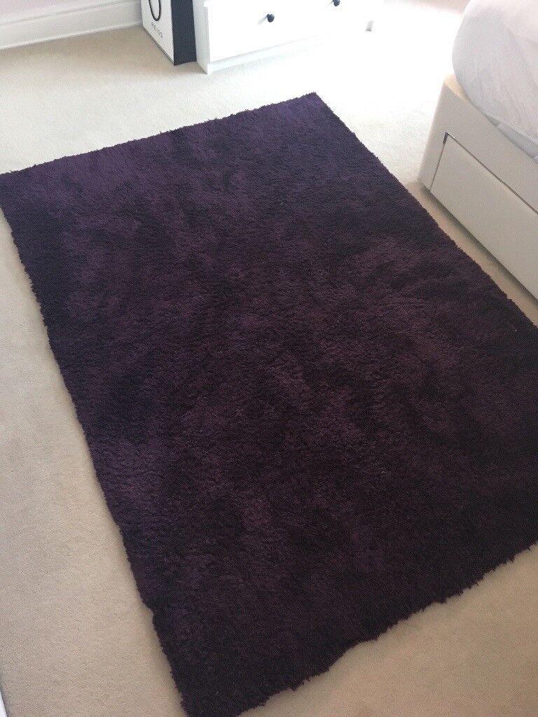 Large Purple Plum Rug