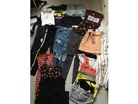 Bundle of teenage girl clothes