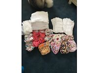Pre loved cloth nappies