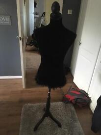 Black mannequin tailors dummy