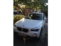 BMW X1 16d white 63 plate