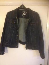 Ladies denim jacket size 20 next