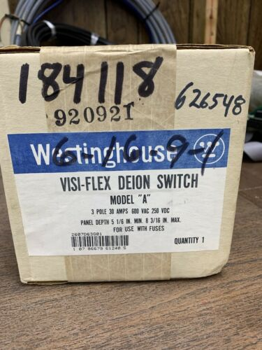 WESTINGHOUSE VISI-FLEX DEION SWITCH FUSE KIT   B173