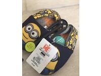 Despicable Me Slippers Size 7 Junior