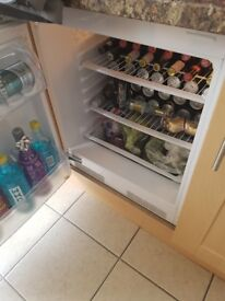 Intergrsted fridge