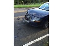 audi tt 2004, accident , damaged front