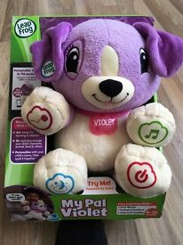 Leap Frog My Pal Violet Toy brand new in box