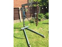 Weber Hydraulik Portable Floor Crane 300 and 500kg collection only £100