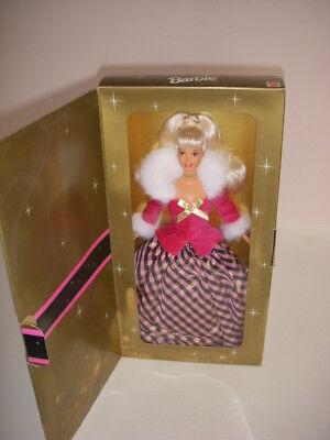Barbie Doll, Winter Rhapsody Avon Blonde Barbie, #16353, Second in a Series-NIB!