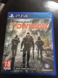 Tom clancys the division for PS4 £10