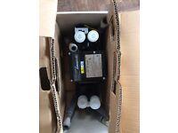 Shower pump showermate brand new in box 1.4 bar twin impeller £60 CONTACT JON 0759600380