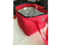 NEW FULLY INSULATED HOT FOOD DELIVERY BAG.