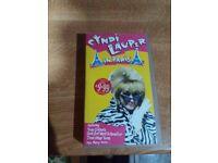 Cyndi Lauper In Paris Video (VHS)