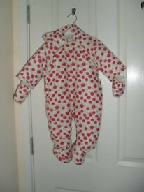 Mothercare brand snowsuit for 3-6 months old baby