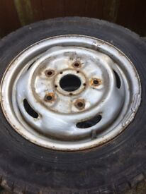 FORD TRANSIT STEEL WHEELS FOR SALE