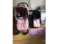 Bugaboo chameleon 3 pram with everything had it under a year old
