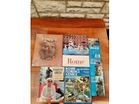 ROME AND POMPEII BOOKS