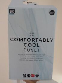 Brand New Unused Boxed Marks and Spencer Double Duvet