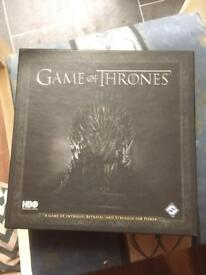 Game of Thrones card game.