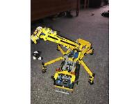 Lego model crane