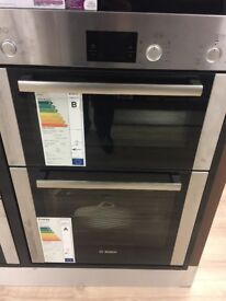 Bosch double oven model HBM13B251GB brand new in original packaging