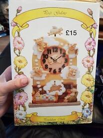 Pigs Galore clock