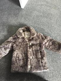 Child's fur coat