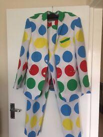 TWISTER FANCY DRESS OUTFIT / FUNKY SUIT BY D/SPOKE SIZE M-L BN