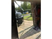 Very large bevelles glass mirror for sale