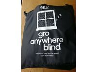 Black out blind. Gro Anywhere