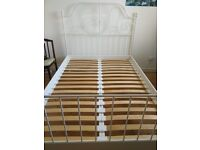 IKEA LEIRVIK series double bed for sale in a very good condition.