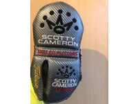 Titleist Scotty Cameron design milled mallet putter headcover