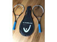 Head Youtek Speed MP 300 Tennis Rackets x 2