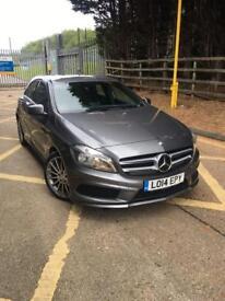 Mercedes-Benz A Class A220 Cdi Blueefficiency Amg Sport 5dr (grey) 2014