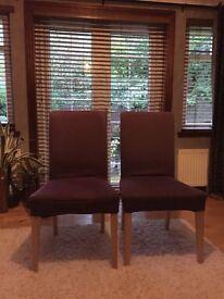 Ikea Dining Chairs x2