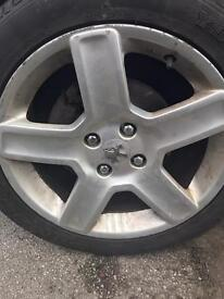 17inch 4 stud alloys