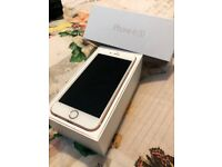 I phone 6s Rose Gold 16gb unlcoked to all networks boxed