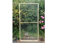 New wire mesh panels & door for aviaries, catteries, chicken runs etc