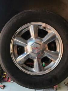 Gmc Envoy 245-65-17 Rims/Tires All Season | 80%Tread | Set Of 4 Tires